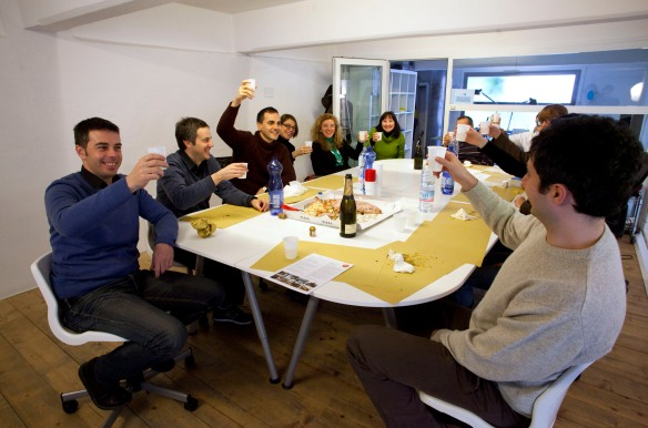 Coworking Milano: Presentation Lunch al Cowo Lambrate